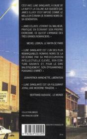 La trilogie Lloyd Hopkins ; lune sanglante ; à cause de la nuit ; la colline aux suicidés - 4ème de couverture - Format classique