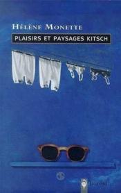 Plaisirs Et Paysages Kitsch - Couverture - Format classique