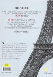 Dictionnaire Cotation Des Artistes 2005 - 4ème de couverture - Format classique