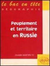 Peuplement Et Territoire En Russie - Intérieur - Format classique