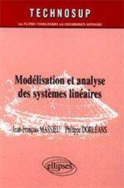 Modelisation Et Analyse Des Systemes Lineaires - Intérieur - Format classique