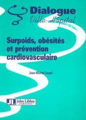Surpoids, Obesites Et Prevention Cardiovasculaire - Intérieur - Format classique
