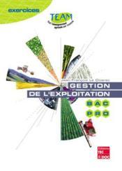 Gestion De L'Exploitation (Coll. Team) - Couverture - Format classique