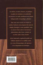 Les Oeufs Sante - 4ème de couverture - Format classique