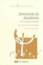 Anorexie et boulimie, une clinique de l'extrême - Intérieur - Format classique