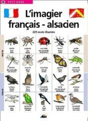 Imagier Francais/Alsacien - Couverture - Format classique