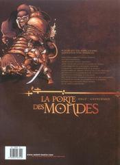 La porte des mondes t.1 ; la muraille - 4ème de couverture - Format classique