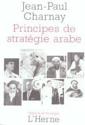 Principes De Strategie Arabe - Intérieur - Format classique