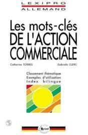 Mots cles de l'action commerciale /allemand - Couverture - Format classique