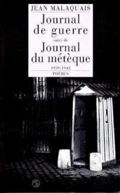 Le journal de guerre - Couverture - Format classique