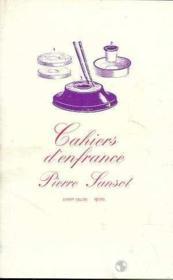Cahiers D'Enfrance - Couverture - Format classique