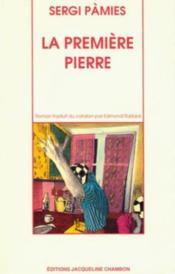 La Premiere Pierre - Couverture - Format classique