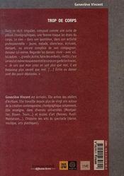 Trop de corps - 4ème de couverture - Format classique