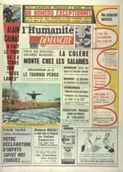 Humanite Dimanche (L') N°757 du 24/02/1963 - Couverture - Format classique