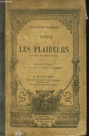 Les Plaideurs, Comedie En 3 Actes. - Couverture - Format classique