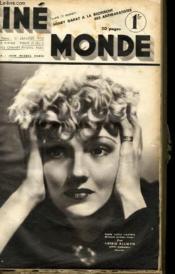 CINEMONDE - 8e ANNEE - N° 326 - CINEMA ITALIEN - MARIA CHAPDELAINE avec JEAN GABIN, MADELEINE RENAUD, ANDRE BACQUE... - Couverture - Format classique