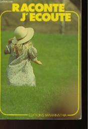 Raconte J'Ecoute - Couverture - Format classique