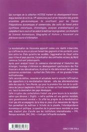 La mondialisation de l'économie (2e édition) - 4ème de couverture - Format classique