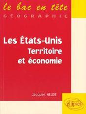 Les Etats-Unis Territoire Et Economie - Intérieur - Format classique