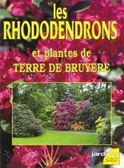 Les rhododendrons et plantes de terre de bruyere - Intérieur - Format classique