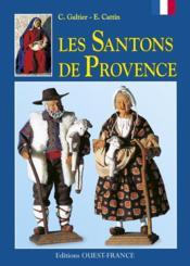 Les santons de provence - Couverture - Format classique