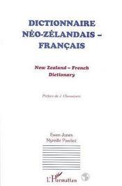 Dictionnaire Neo-Zelandais/Francais - Intérieur - Format classique