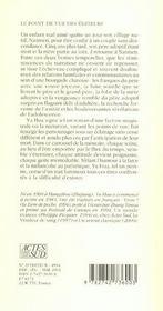 Cris Dans La Bruine - 4ème de couverture - Format classique