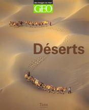 Coffret Geo ; Deserts - Intérieur - Format classique