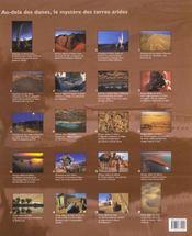 Coffret Geo ; Deserts - 4ème de couverture - Format classique
