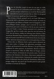 La rochefoucauld - 4ème de couverture - Format classique