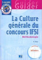 La Culture Generale Du Concours Ifsi - Intérieur - Format classique