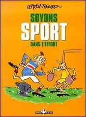 Soyons Sport Dans L'Effort - Intérieur - Format classique