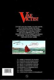 Vae victis T.9 ; Caius Julius Caesar - 4ème de couverture - Format classique