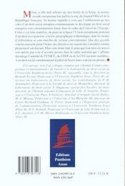 Normes Sociales Europeennes - 4ème de couverture - Format classique