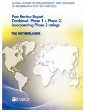 Vente livre :  Global forum on transparency and exchange of information for tax purposes ; the Netherlands (édition 2013)  - Ocde