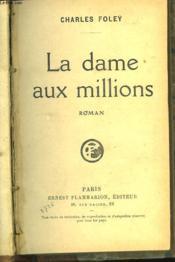 La Dame Aux Millions - Couverture - Format classique