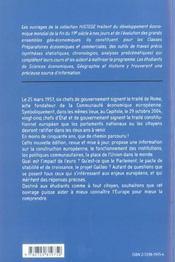 L'Union Europeenne Au Xxie Siecle Institutions Et Economie - 4ème de couverture - Format classique