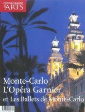Connaissance Des Arts N.289 ; Monte-Carlo, L'Opéra Garnier Et Les Ballets De Monte-Carlo - Intérieur - Format classique
