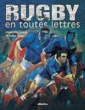 Rugby En Toutes Lettres - Couverture - Format classique