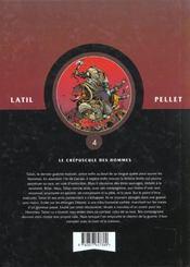 Les guerriers t.4 ; le crépuscule des hommes - 4ème de couverture - Format classique