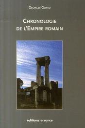 Chronologie de l'empire romain - Intérieur - Format classique