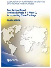 Vente livre :  Global forum on transparency and exchange of information for tax purposes ; Soth Africa (édition 2013)  - Ocde