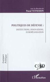 Politiques De Defenses - Intérieur - Format classique
