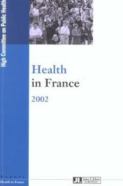 Vente  Health In France 2002  - Collectif