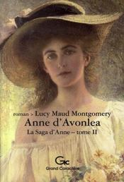 La saga d'Anne t.2 ; Anne d'Avonlea - Intérieur - Format classique