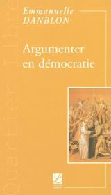 Argumenter en democratie - Intérieur - Format classique