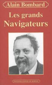 Grands navigateurs - Couverture - Format classique