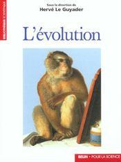 L'Evolution. - Intérieur - Format classique