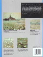 Eau le regard du peintre - 4ème de couverture - Format classique