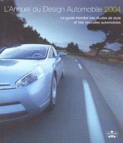 L'annuel du design automobile 2004 - Intérieur - Format classique